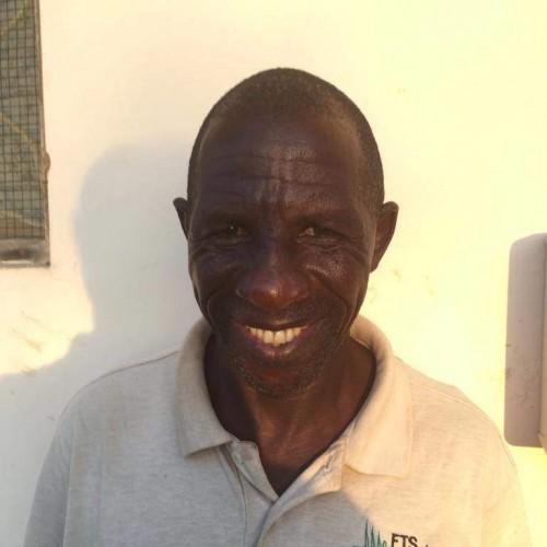 Security Guard George Rweyemamu