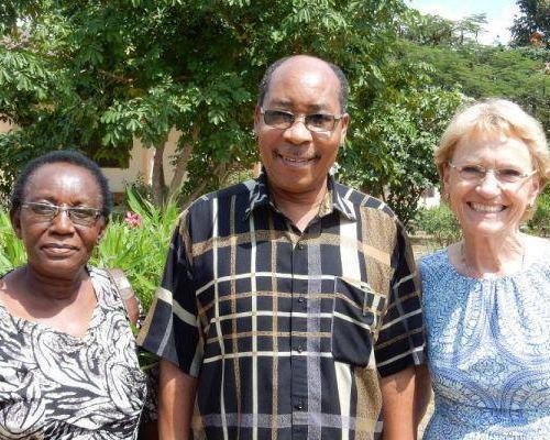 Gruppenbild Stiftungsrat Tansania